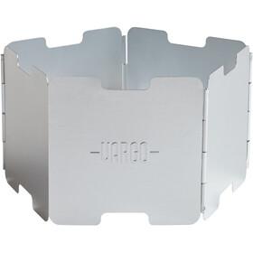 Vargo Aluminium windscherm, silver